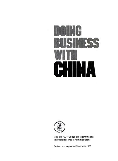 Doing Business with China PDF