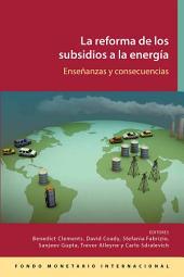 Reforma de los subsidios a la energía: Lecciones e implicaciones