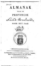 Almanak voor de Provincie Noord-Braband, voor het jaar ....: Volume 3