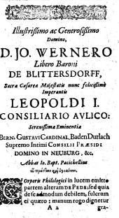 Lucubrationum ad corpus philologicorum pars altera, sive Diatribe de pede