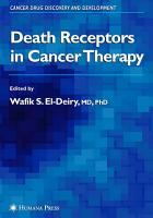 Death Receptors in Cancer Therapy PDF