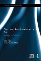 Ethnic and Racial Minorities in Asia PDF