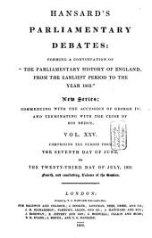 The Parliamentary Debates from the Year 1803 to the Present Time: Volume 67