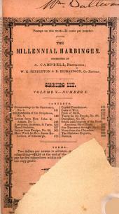 The Millennial Harbinger: Volume 5