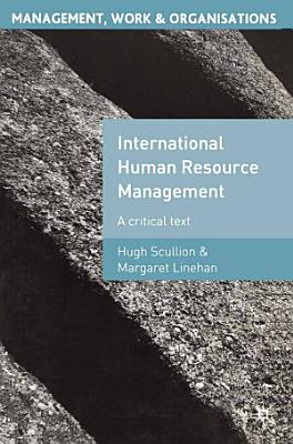 International Human Resource Management PDF