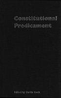 Constitutional Predicament PDF