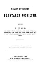 Genera et species plantarum fossilium