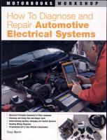 How To Diagnose and Repair Automotive Electrical Systems PDF
