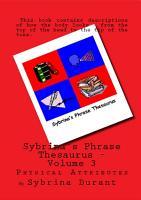 Sybrina s Phrase Thesaurus   Volume 3 PDF