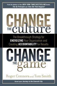 Change the Culture  Change the Game Book