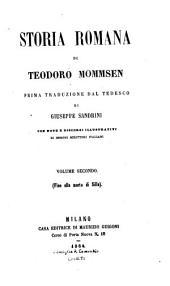 Storia romana: Volume 2