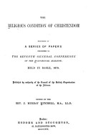The Religious Condition of Christendom PDF