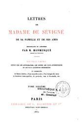 Lettres de Madame de Sévigné de sa famille et de ses amis: Volume12