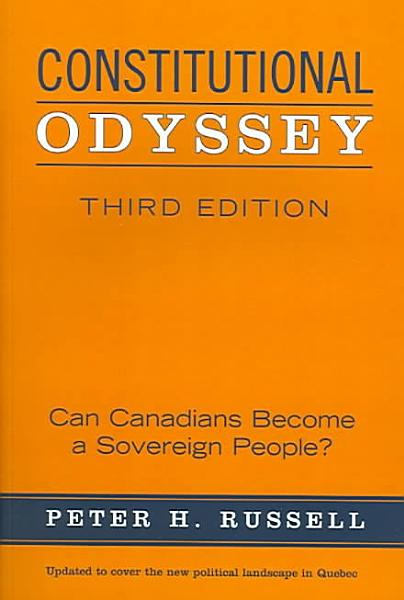 Download Constitutional Odyssey Book