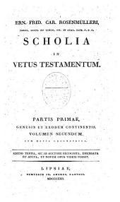 Scholia in Vetus Testamentum