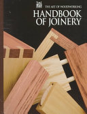 Handbook of Joinery PDF