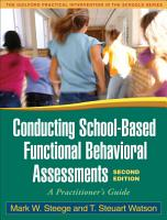 Conducting School Based Functional Behavioral Assessments  Second Edition PDF