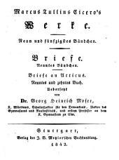 Werke: Briefe ; 9. Bändchen ; Briefe an Atticus, neuntes und zehntes Buch. 59