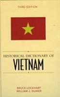 Historical Dictionary of Vietnam PDF