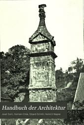 Handbuch der architektur: Band 4,Ausgabe 2
