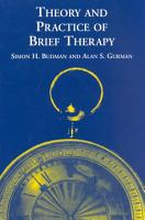 Theory and Practice of Brief Therapy PDF