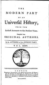 An Universal History, from the Earliest Accounts to the Present Time: Volume 53