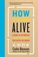 How to Be Alive PDF