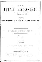 The Utah Magazine PDF