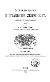 Streffleurs militärische Zeitschrift: Band 4;Band 6
