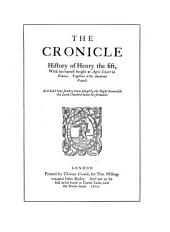 The Chronicle History of Henry the Fifth: Reprint of First Quarto, 1600