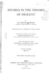 Studies in the Theory of Descent: Volume 2
