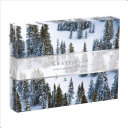 Gray Malin Snow 500 Piece Double Sided Puzzle