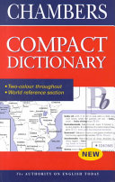 Chambers Compact Dictionary PDF