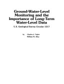 Ground-water-level monitoring and the importance of long-term water-level data: Issues 1217-2002