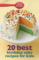 20 Best Birthday Cakes Recipes for Kids PDF