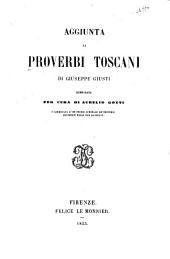 Aggiunta ai Proverbi toscani di Giuseppe Giusti