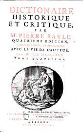 Dictionaire Historique Et Critique: Q - Z, Volume4