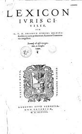 Lexicon juris civilis