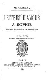 Lettres d'amour a Sophie