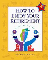 How to Enjoy Your Retirement PDF