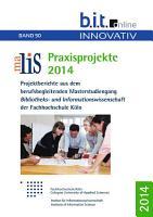 MALIS Praxisprojekte 2014 PDF