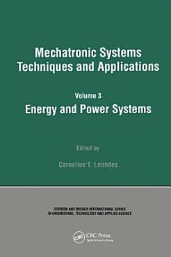 Energy and Power Systems PDF