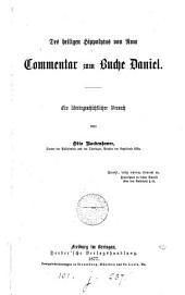 Des heiligen Hippolytus von Rom Commentar zum Buche Daniel