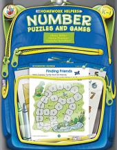 Number Puzzles and Games, Grades K - 1