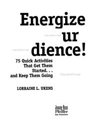 Energize Your Audience  PDF
