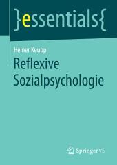Reflexive Sozialpsychologie