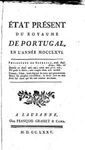 Etat présent du Royaume de Portugal, en l'année MDCCLXVI