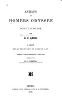 Anhang zu Homers Odyssee PDF