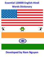 Essential 120000 English-Hindi Words Dictionary