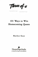 101 Ways to Win Homecoming Queen PDF